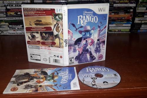 Video Juego Rango Para Consola Nintendo Wii