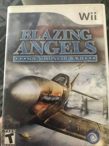 Video Juego Wii Blazing.angels.