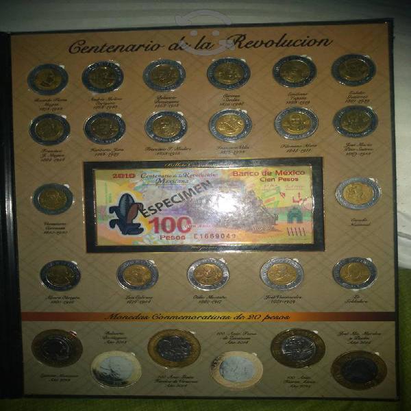 Coleccionador de monedas mexicanas