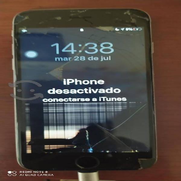 Iphone display roto pero funcionando. no robado