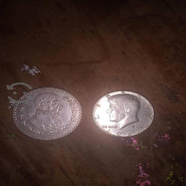 Lote 1 monedas plata