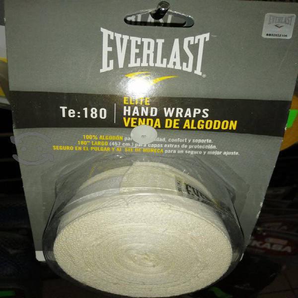 vendas para box de algodón everlast 4.57 m