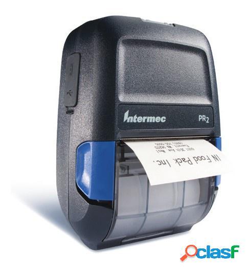 Intermec impresora móvil pr2, térmica directa, 203 x 203 dpi, bluetooh, usb 2.0, gris