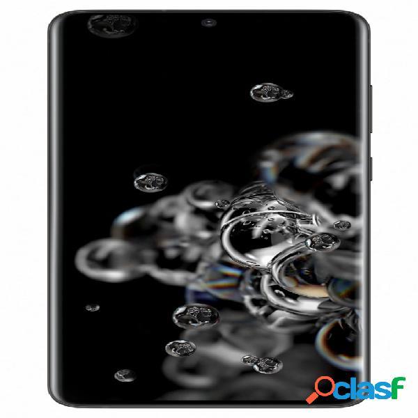 "Smartphone samsung galaxy s20 ultra 6.9"" 3200 x 1440 pixeles dual sim, 128gb, 12gb ram, 3g/4g, android 10.0, negro"