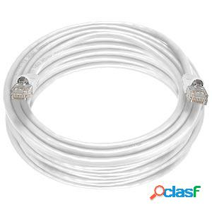 Panduit cable patch cat6 utp 28awg, rj-45 macho - rj-45 macho, 3 metros, blanco