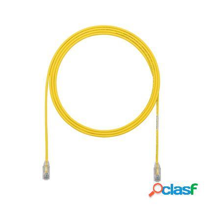 Panduit cable patch cat6 utp 28awg, rj-45 macho - rj-45 macho, 90cm, rojo