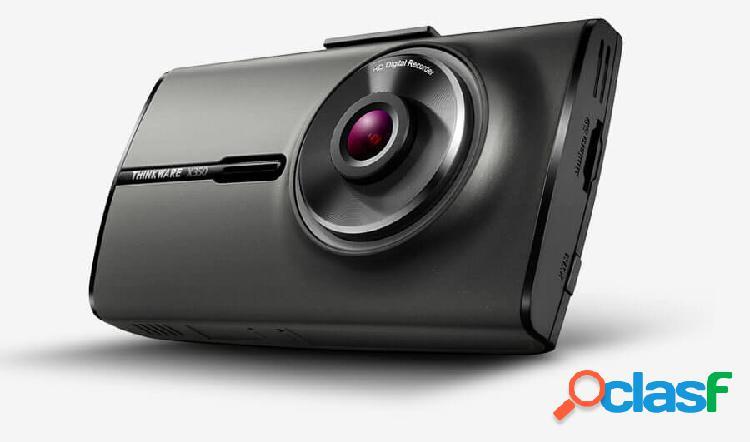 Cámara de video thinkware x350 para auto, 2.7'', full hd, microsd max. 64gb, negro