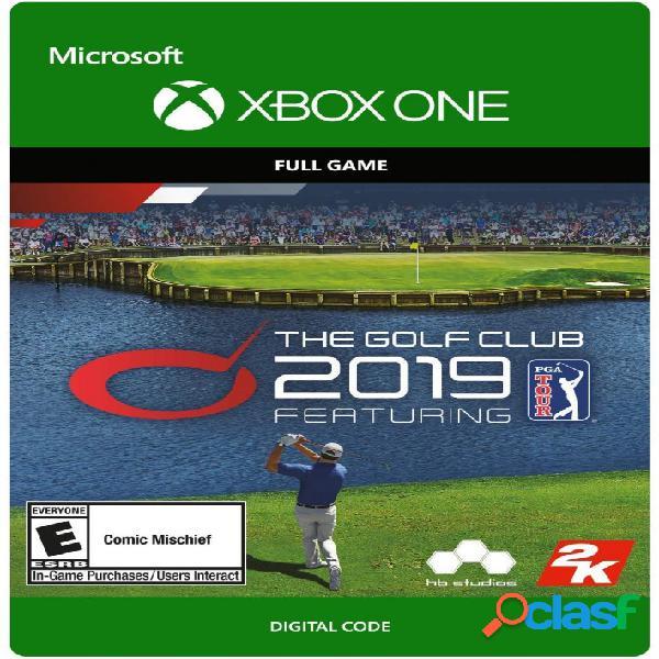 The golf club 2019 featuring pga tour, xbox one - producto digital descargable