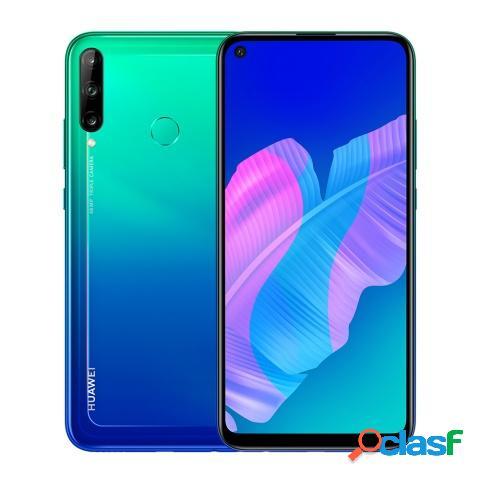 "Smartphone huawei y7p 6.3"", 1560 x 720 pixeles, 64gb, 4gb ram, 4g, android 9.0, azul"