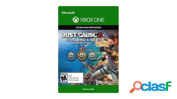 Just cause 3 land, sea, air expansion pass, xbox one - producto digital descargable
