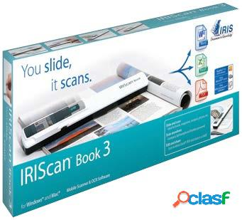Scanner i.r.i.s. iriscan book 3, 900 x 900dpi, escáner color, usb 2.0, blanco