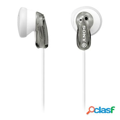 Sony audífonos intrauriculares e9lp, alámbrico, 1.2 metros, 3.5mm, gris/blanco