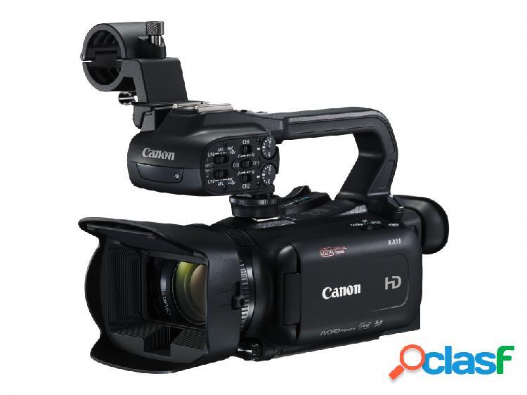 Cámara de video canon xa11, 3'', 3mp, zoom óptico 20x, negro