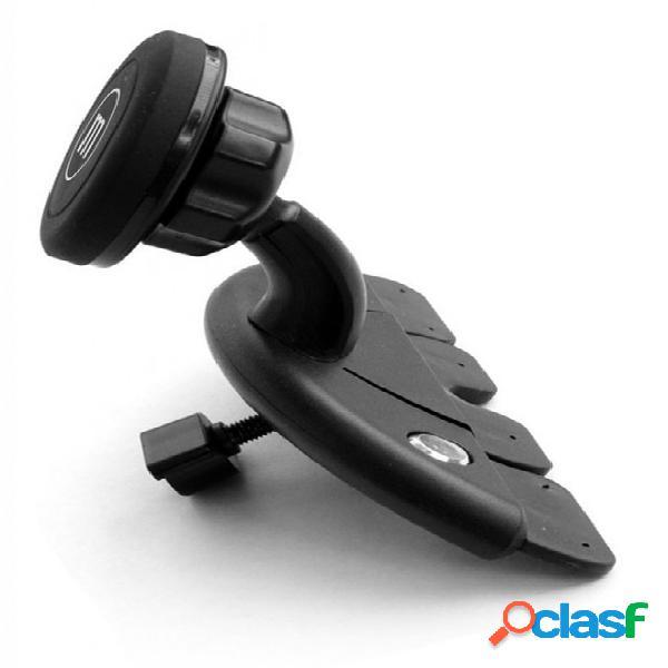 Maxell soporte magnético de auto para celular 347642, negro