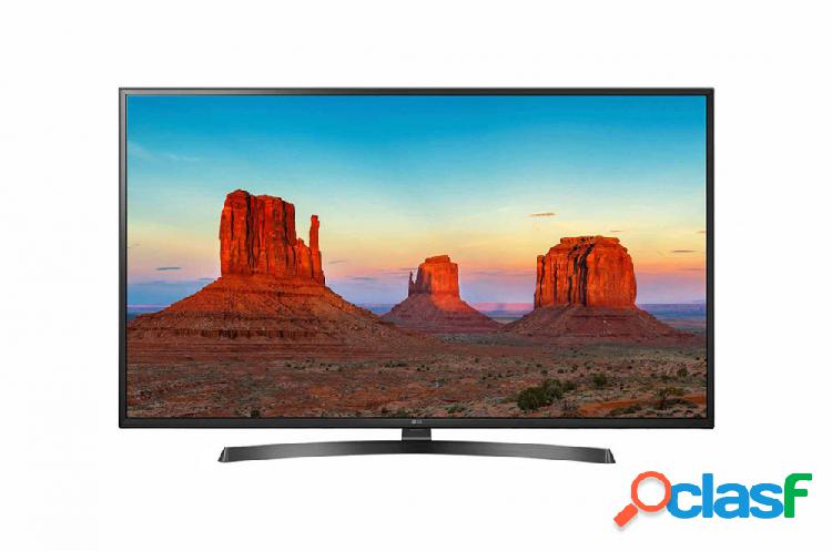 Lg smart tv led 55uk6250pub 55'', 4k ultra hd, widescreen, negro