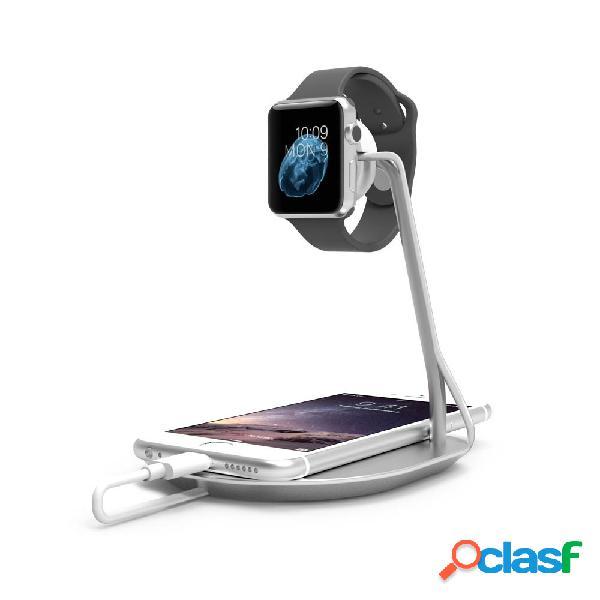 Puregear soporte para apple watch, plata
