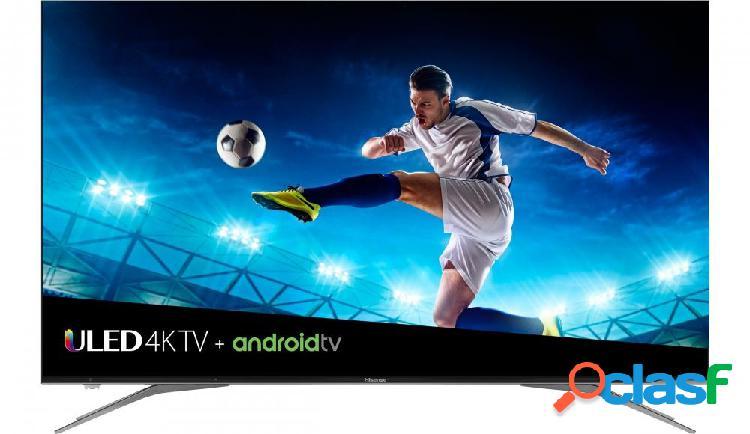 Hisense smart tv uled 65h9e plus 65'', 4k ultra hd, widescreen, negro