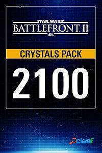 Star wars battlefront ii, 2100 crystals, xbox one - producto digital descargable
