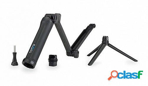 Gopro soporte 3-way, 19 - 50.8cm, 3 patas, negro