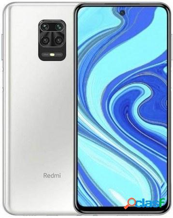 "Smartphone xiaomi redmi note 9 pro 6.67"", dual sim 2400 x 1080 pixeles, 64gb, 6gb, 4g, android 10, blanco"