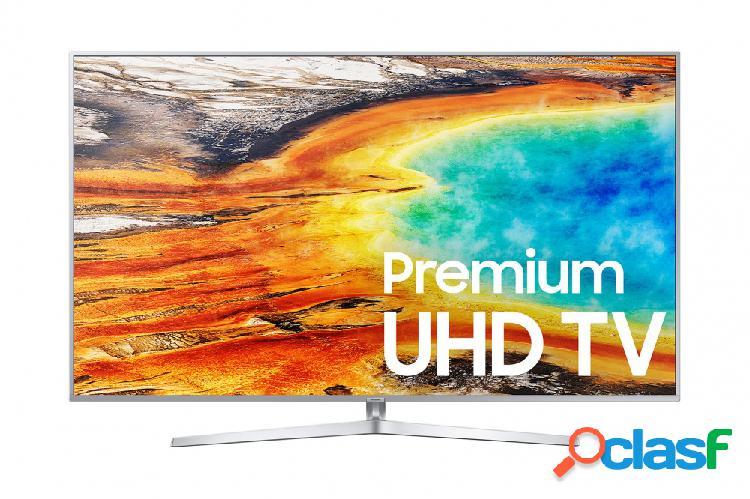 Samsung smart tv led mu9000 74.5'', 4k ultra hd, widescreen