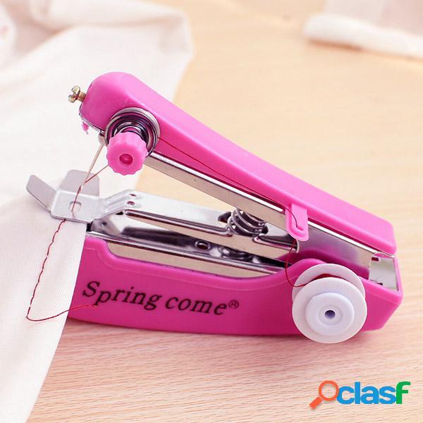 Mini máquina de coser manual portátil de la máquina de artesanía diy