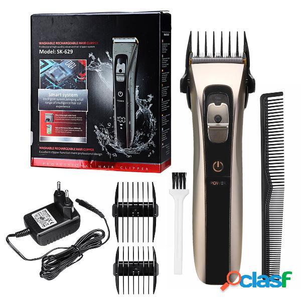 Cortador de cabello eléctrico peluquero inalámbrico cortador de cabello especial adulto fader profesional para el cabello