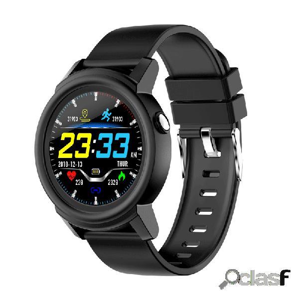 Hd completo pantalla circular ips hr monitor actividad deportiva en varios idiomas actividad monitor aptitud reloj inteligente de seguimiento
