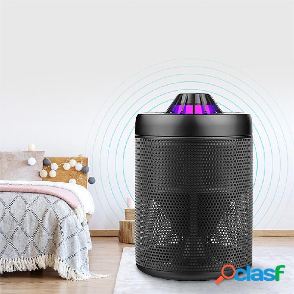 Loskii lm-707 usb charge smart led uv trampa para matar mosquitos lámpara moscas asesinas repelente de mosquitos