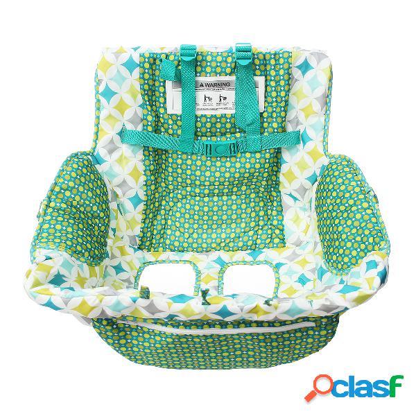 Fodable baby shopping cart cojín kids trolley pad compras push cart protección cubierta silla para bebé
