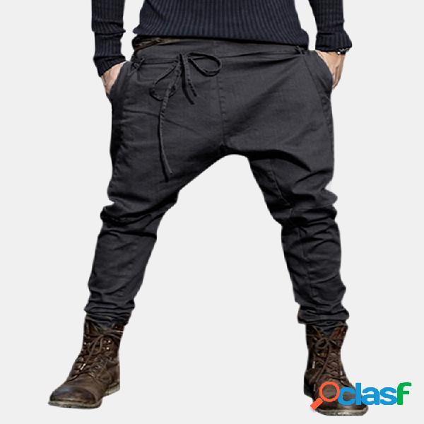 Pantalón amplio cordón