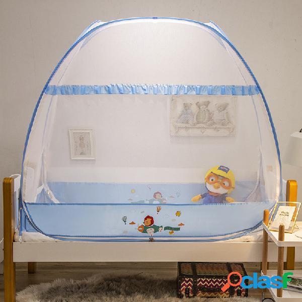 Cuna mosquitera yurta recién nacido bebé mosquitera cubierta instalación gratuita con plegado inferior