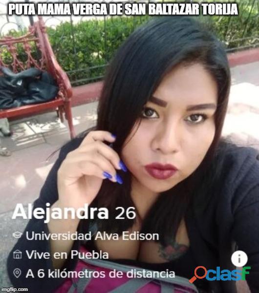 PROSTITUTA POBLANA ALEJANDRA SANCHEZ CORTES