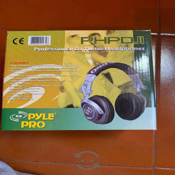 Audifonos con cable profesional pyle pro dj turbo