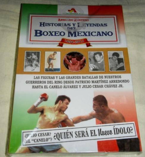 Box libro historias y leyendas del boxeo mexicano