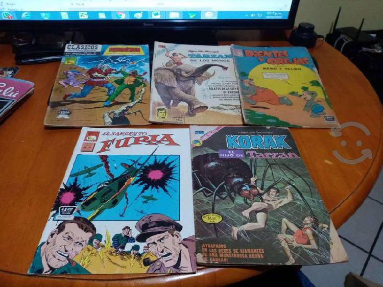 Comics prensa novaro novedades