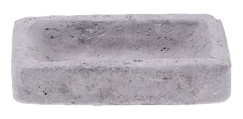 Cuenco de piedra de resina para reptiles, fuente de agua