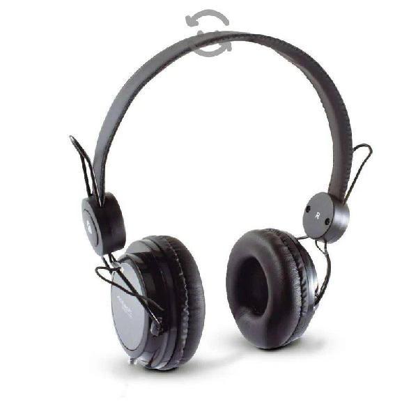 Diadema con microfono acteck af-540, 3.5mm negro