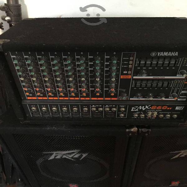 Equipo de sonido para fiestas