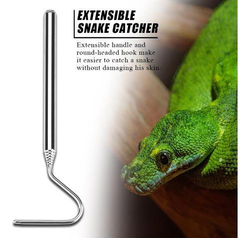Gancho extensible para serpiente, atrapador de serpiente, sn
