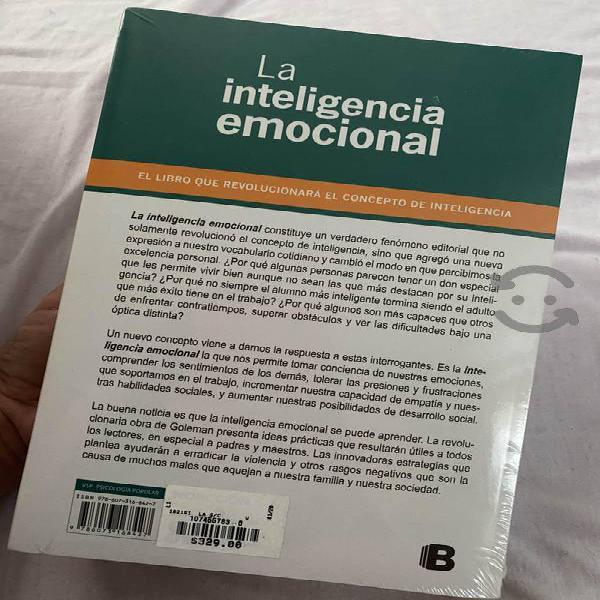 Libro: la inteligencia emocional