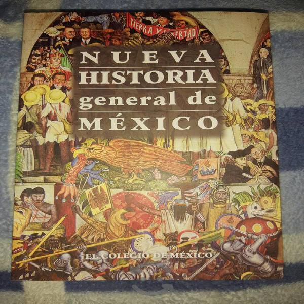 """Libro """"nueva historia general de méxico"""""""