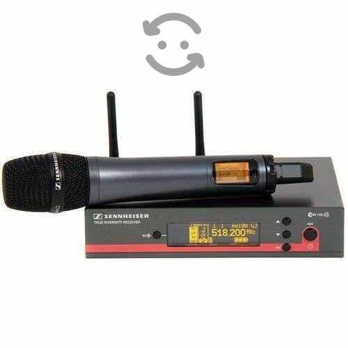 Micrófono inalámbrico sennheiser ew100 g3