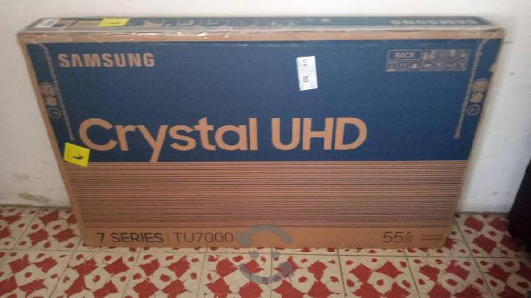 """Nueva samsung crystal 4k uhd 55"""" smart año 2020"""
