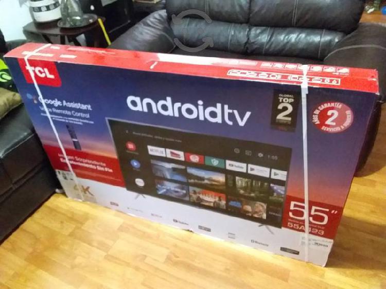 Pantalla tcl led fhd 4k 55 pulgadas android tv
