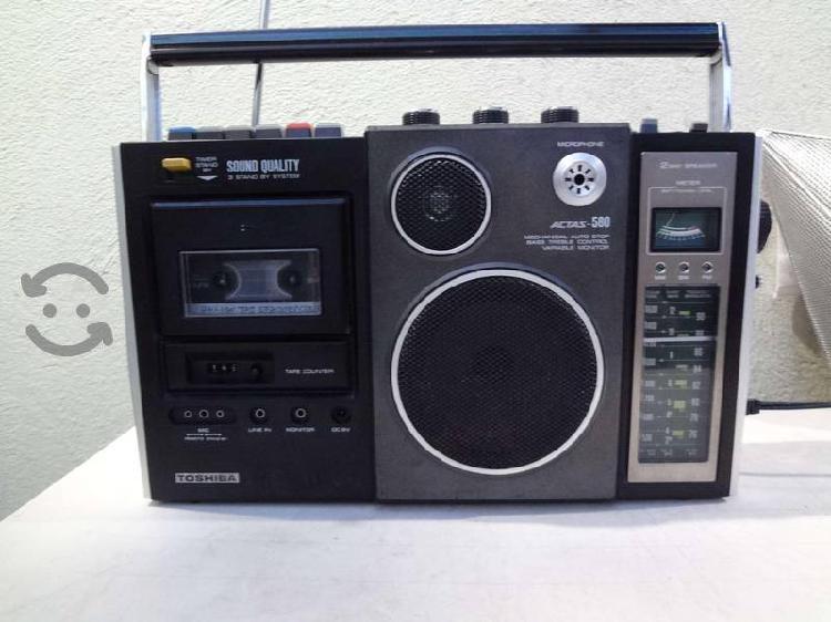 Radio grabadora toshiba rt-580f 2 vias sw/am/fm