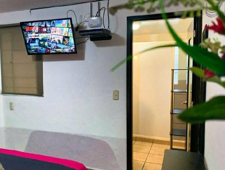 Rento habitacion ejecutiva amueblada con todos los servicios