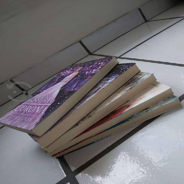 Saga la selección de kiera cass ( 5 libros )