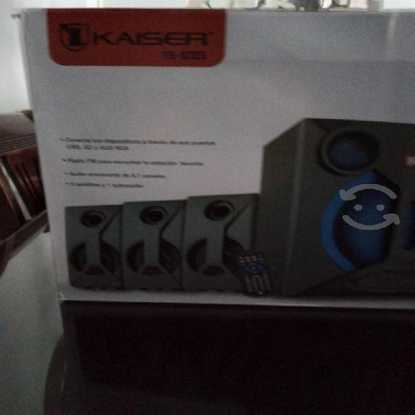 Sistema de sonido kaiser 5.1