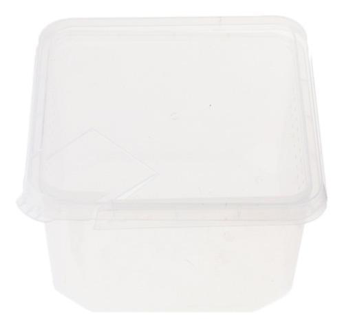 Spider habitat - caja de alimentos (plástico, 12 x 12 x 7 c